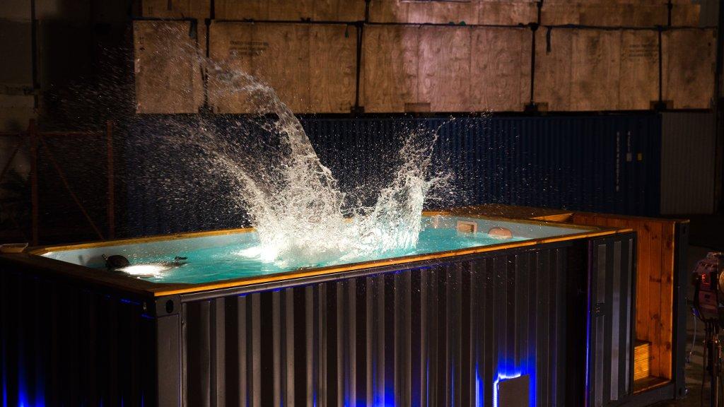 Poolbau Berlin moderne seecontainer architektur für events wohnraum bigboxberlin