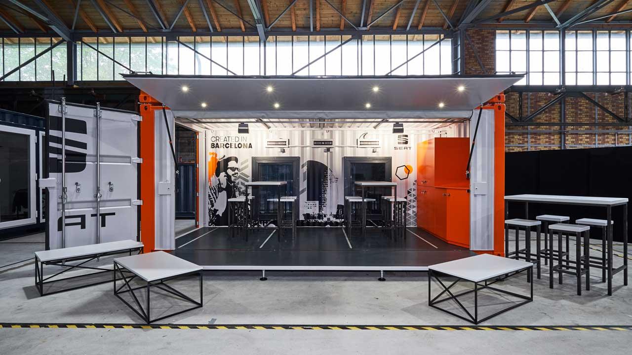 Moderne Seecontainer-Architektur für Events & Wohnraum   BigBoxBerlin